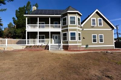 el cajon Single Family Home For Sale: 206 Lento Lane