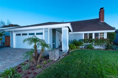 Encinitas Single Family Home Sold: 1743 Old Mill Rd