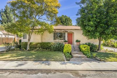 Single Family Home For Sale: 4941 Wood St