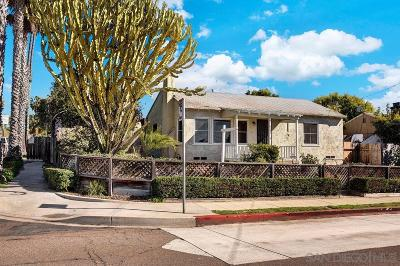 Pacific Beach Single Family Home For Sale: 5137 Mission Blvd.