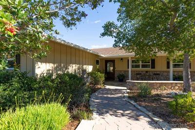 el cajon Single Family Home For Sale: 11309 Meadow View Rd