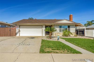 Santee Single Family Home For Sale: 10114 Woodglen Vista Dr