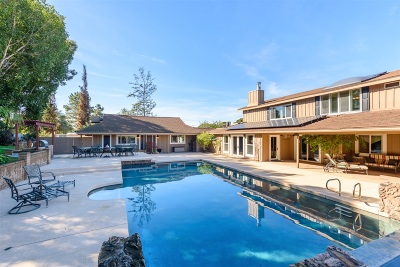 Single Family Home For Sale: 10461 Quail Canyon Rd