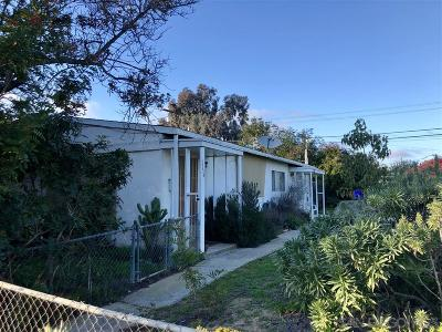 Clairemont Multi Family 2-4 For Sale: 3556/58 Clairemont Mesa Blvd