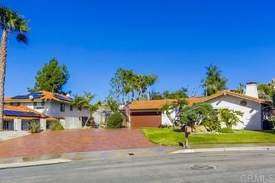 Carlsbad Single Family Home For Sale: 6534 Vispera Place
