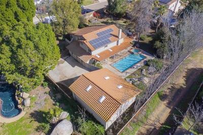 el cajon Single Family Home For Sale: 1555 Falda Del Cerro Ct