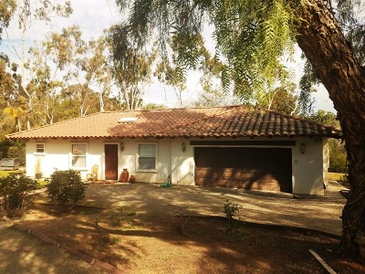 Rancho Santa Fe Rental For Rent: 6821 La Valle Plateada