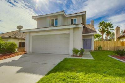 el cajon Single Family Home For Sale: 11933 Calle Limonero