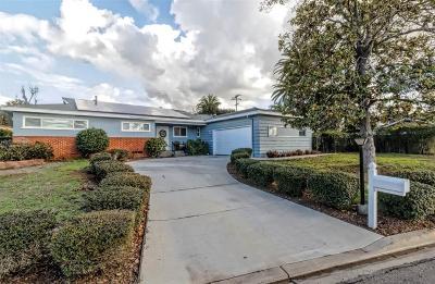 el cajon Single Family Home For Sale: 1409 Teton Dr