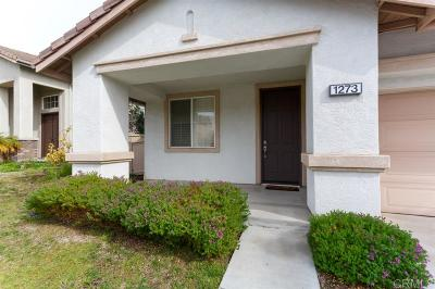 Otay Ranch Single Family Home For Sale: 1273 Morgan Hill Drive
