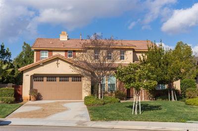 Riverside County Single Family Home For Sale: 31698 Silk Vine Dr