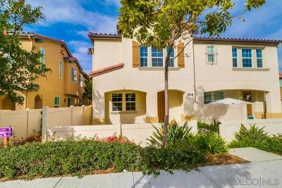 Otay Ranch Townhouse For Sale: 1549 El Prado #3