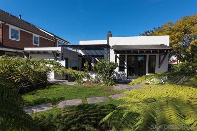 Coronado Single Family Home For Sale: 500 I Avenue