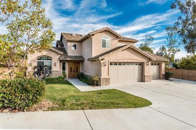 Vista Single Family Home For Sale: 788 Hidden Sky Ct