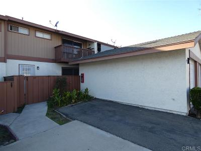 San Diego Townhouse For Sale: 60 Quintard St. #19