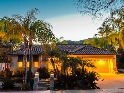 Escondido Single Family Home For Sale: 2263 Mesa Oak Pl