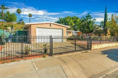 San Diego Single Family Home Pending: 1491 Ebbs St