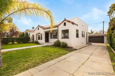 El Cerrito, El Cerrito/West College Single Family Home For Sale: 4638 60th St