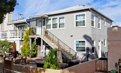 Pacific Beach, Mission Beach Multi Family 2-4 For Sale: 846-48 Island Ct