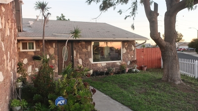 Chula Vista Single Family Home For Sale: 454 Thrush St