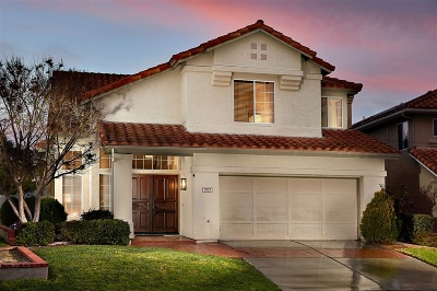 Carlsbad Single Family Home Sold: 7057 Murillo Ln