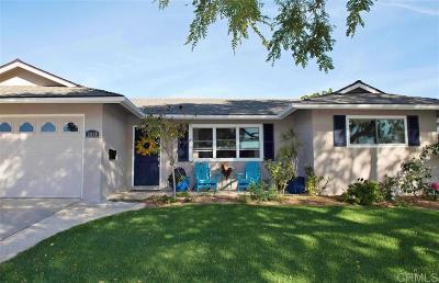 Oceanside Single Family Home For Sale: 3910 Celeste Dr
