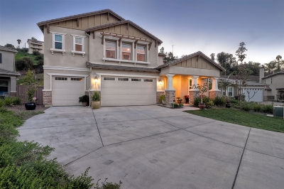 La Mesa Single Family Home For Sale: 8990 McKinley Court