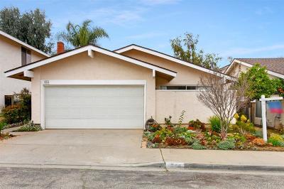 Escondido Single Family Home For Sale: 214 Boleroridge Place