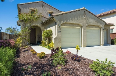 Oceanside Single Family Home For Sale: 1107 Greenway Rd