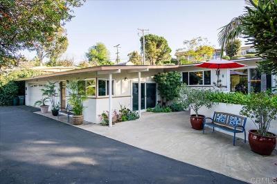 Vista Single Family Home For Sale: 2444 Alta Vista Drive