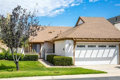 Escondido Single Family Home For Sale: 1234 Aristotle Glen