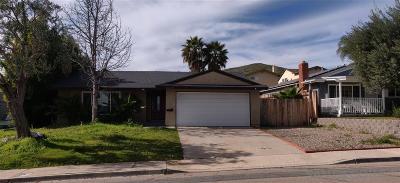 Santee Single Family Home For Sale: 10208 Timberlane Way