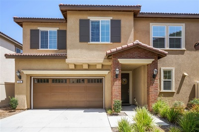 San Marcos CA Single Family Home For Sale: $595,000