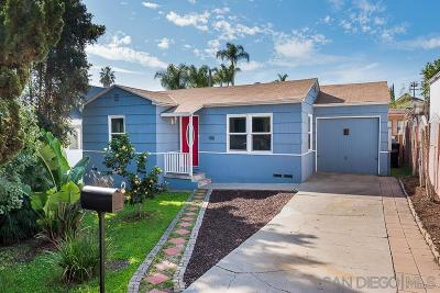 San Diego Single Family Home For Sale: 1110 28th St