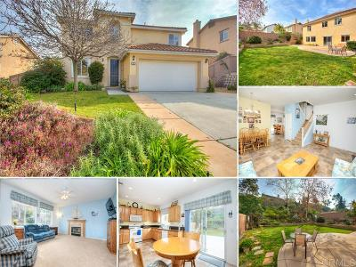 Oceanside Single Family Home For Sale: 2276 Bliss Cir