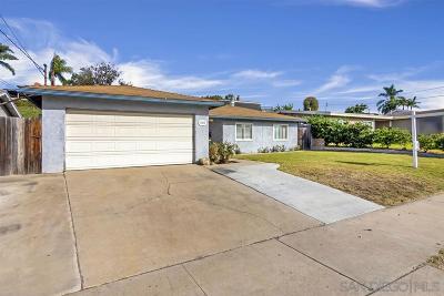Chula Vista Single Family Home For Sale: 943 Melrose Ave