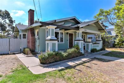 University Heights, University Heights/Hillcrest, University Heights/Mission Hills, University Heights/North Park Single Family Home For Sale: 1251 Lincoln Ave