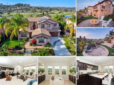 La Costa Greens Single Family Home Sold: 6845 Tanzanite Dr