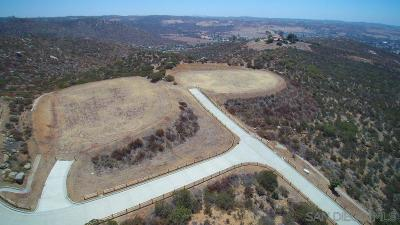 Poway Residential Lots & Land For Sale: 5 Murel Trail #5