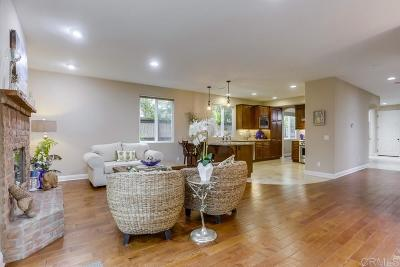 Encinitas Single Family Home For Sale: 169 La Veta