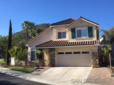 San Diego Single Family Home For Sale: 18761 Caminito Pasadero #119