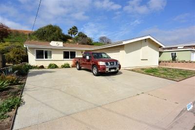 Chula Vista Single Family Home For Sale: 1524 Ocala Avenue