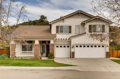 Escondido Single Family Home For Sale: 3244 Oak Wood Lane