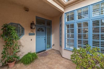 Rancho Santa Fe Townhouse For Sale: 3715 Paseo Vista Famosa