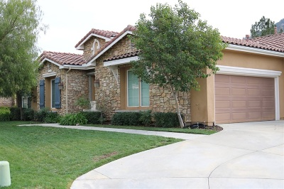 Valley Center Single Family Home Contingent: 14393 Sawgrass Circle