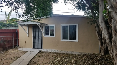 San Diego Multi Family 2-4 For Sale: 4243 48th St