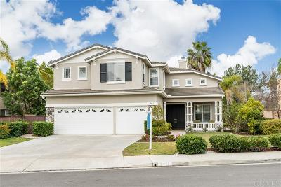 Carlsbad Single Family Home Sold: 3413 Camino Alegre