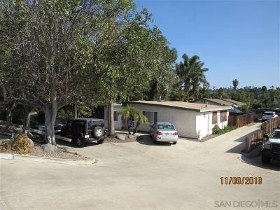 Encinitas Multi Family 2-4 For Sale: 735 Clark Avenue