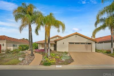 Fallbrook Single Family Home For Sale: 1039 Ridge Heights Dr