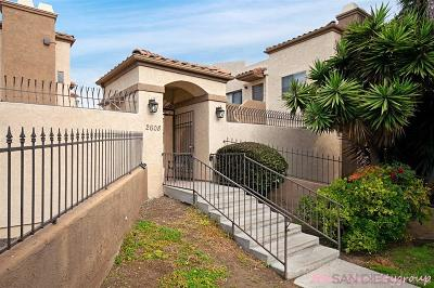 San Diego Attached For Sale: 2608 Broadway #9